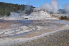 Castle Geyser - Yellowstone Royalty Free Stock Photo
