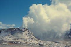 Castle geyser Royalty Free Stock Image