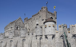 Castle of Ghent Stock Photo