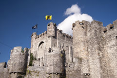 Castle in ghent Stock Images