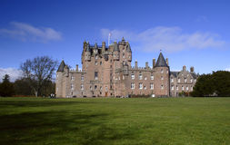 Castle of Glamis in Scotland Royalty Free Stock Images