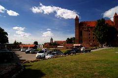 The castle in Gniew Royalty Free Stock Images
