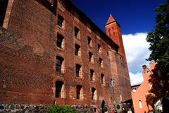 The castle in Gniew Royalty Free Stock Photos