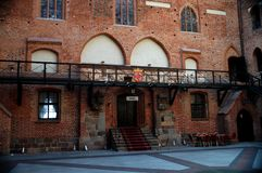 The castle in Gniew Stock Photography
