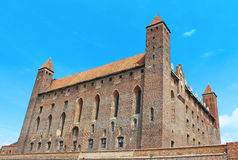 Castle in Gniew. Royalty Free Stock Photography