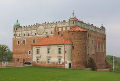 Castle of Golub-Dobrzyn Royalty Free Stock Photography