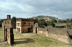 Castle in Gondar, Ethiopia Royalty Free Stock Image