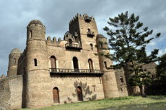 Castle in Gondar, Ethiopia Stock Photography