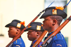 Castle of Good Hope Officers Stock Photos