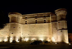 Castle in Gordes, France Stock Photography