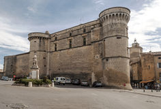 Castle of Gordes Stock Images