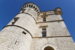The Castle of Gordes. The Castle ine the old village of Gordes, in Luberon Regional Park Royalty Free Stock Photography