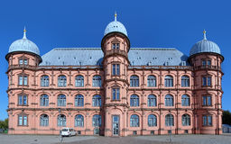 Castle Gottesaue in Karlsruhe, Germany. Castle Gottesaue, now University of Music Karlsruhe, Germany Stock Photography