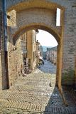 Castle Gradara Royalty Free Stock Image