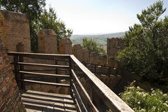 Castle of gradara Stock Photo