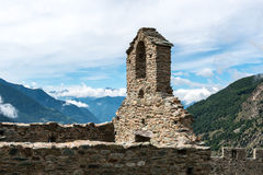 Castle of Graines, Aosta Valley (Italy) Stock Images