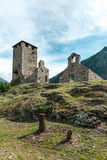 Castle of Graines, Aosta Valley (Italy) Royalty Free Stock Photography