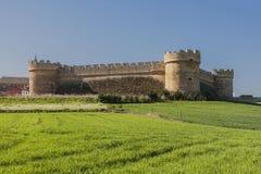 Castle Grajal de Campos Στοκ Φωτογραφίες