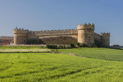 Castle of Grajal de Campos. Stock Photos
