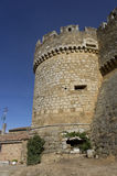 Castle Grajalde Campos, in Leon, Spanien lizenzfreie stockfotografie
