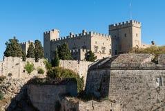 Castle in Greece Stock Photos