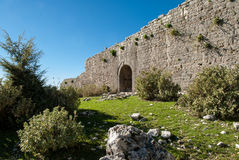 Castle in Greece Stock Photography