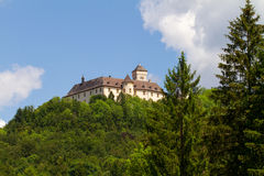 Castle Greifenstein in Upper Franconia Stock Photos