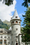 Castle of Gressoney Royalty Free Stock Image