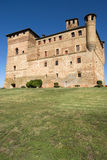 Castle of Grinzane Cavour Stock Photo