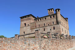 Castle of Grinzane Cavour, Italy Stock Photos