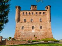 Castle of Grinzane Cavour, Piedmont, Italy Stock Photo