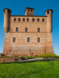 Castle of Grinzane Cavour, Piedmont, Italy Royalty Free Stock Photography