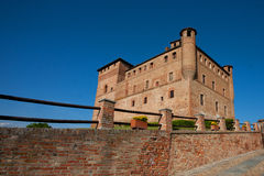 Castle Grinzane Cavour, Piedmont, Italy Royalty Free Stock Image