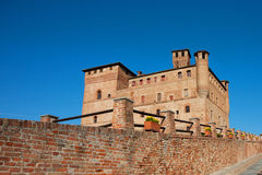 Castle Grinzane Cavour, Piedmont, Italy Royalty Free Stock Photo