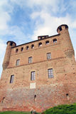 Castle of Grinzane Cavour Stock Photos