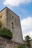 Castle of Gropparello. Emilia-Romagna. Italy. Royalty Free Stock Photos