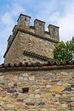 Castle of Gropparello. Emilia-Romagna. Italy. Royalty Free Stock Image