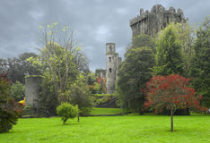 castle grounds royalty free stock photos