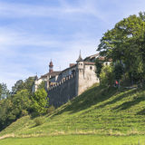 Castle of Gruyère Stock Images