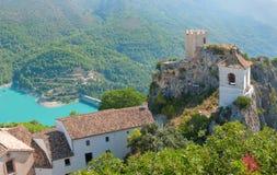 Castle Guadalest στο χωριό, Αλικάντε, Ισπανία Στοκ Εικόνες