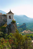 Castle in Guadalest village, Alicante, Spain Stock Photography