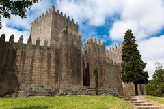 Castle of Guimaraes Stock Photography