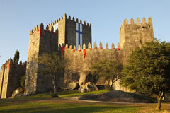 Castle of Guimaraes Stock Photography