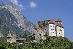 Castle  Gutenberg in Balzers Stock Images