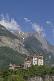 Castle  Gutenberg in Balzers Royalty Free Stock Photography