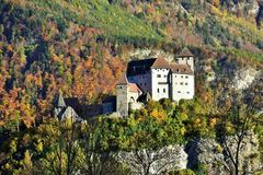 Castle Gutenberg Stock Image