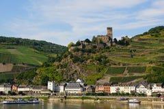 Castle Gutenfels Stock Images