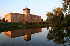 Castle in Gyula Royalty Free Stock Images