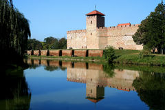 Castle in Gyula Royalty Free Stock Photos