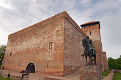 Castle in Gyula Hungary Stock Images